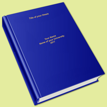 Thesis printing in India